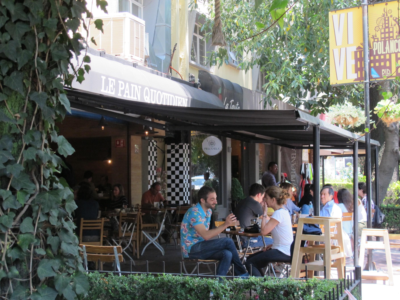 Image of restaurant in Polanco Mexico city